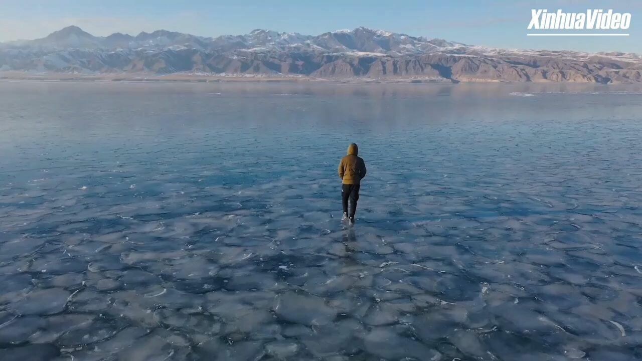 ยล 'น้ำแข็งสีน้ำเงิน' ผืนธรรมชาติ มหาสมุทรย่อส่วนในซินเจียง