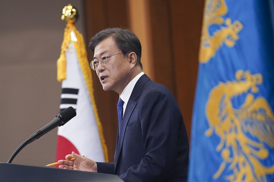 มุนแจอินชี้ 'เกาหลีใต้' พร้อมหารือ DPRK ทุกที่ ทุกเวลา ทุกรูปแบบ