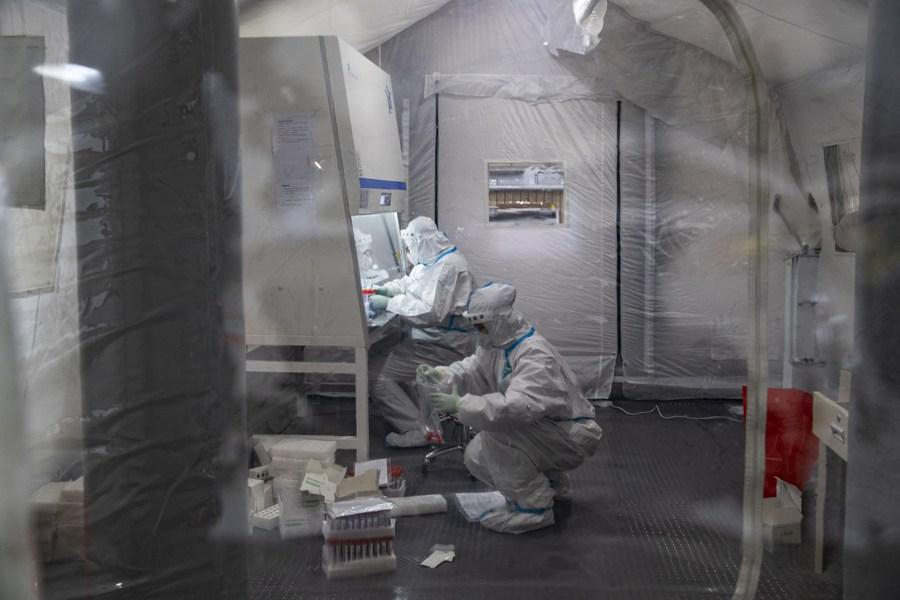 ซอกแซก 'ห้องแล็บตรวจเชื้อชั่วคราว' ในเฮยหลงเจียง