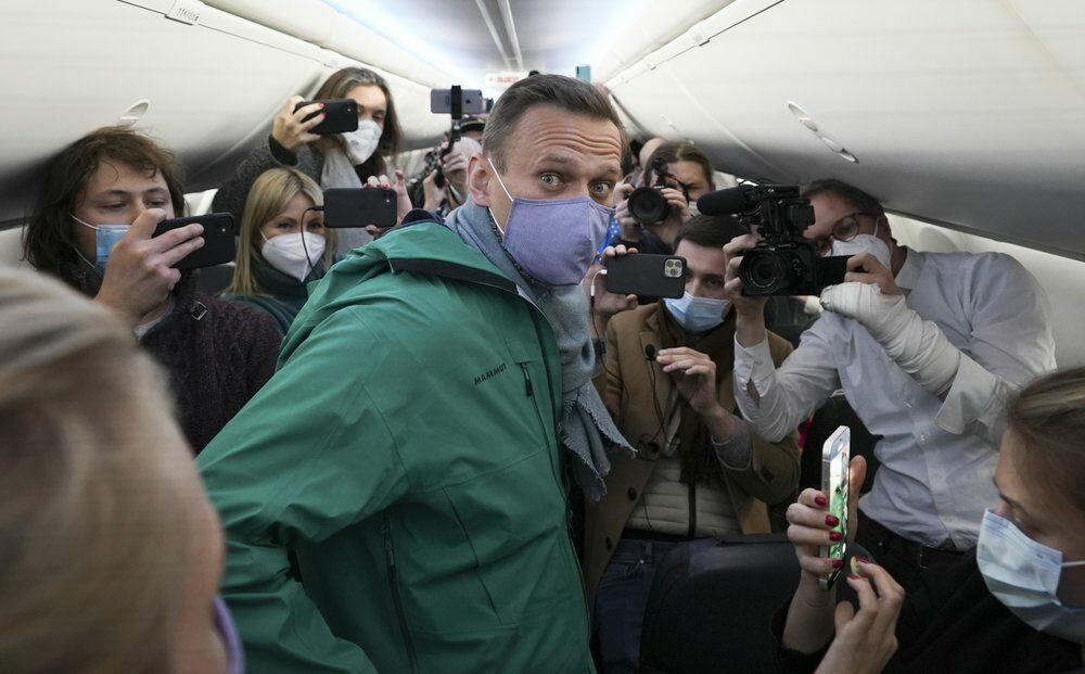 'นาวัลนี' อริปูตินถูกรวบทันควัน หลังบินถึงกรุงมอสโก