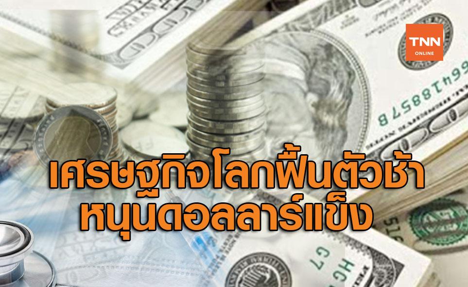 เศรษฐกิจโลกฟื้นตัวช้าหนุนดอลลาร์แข็ง