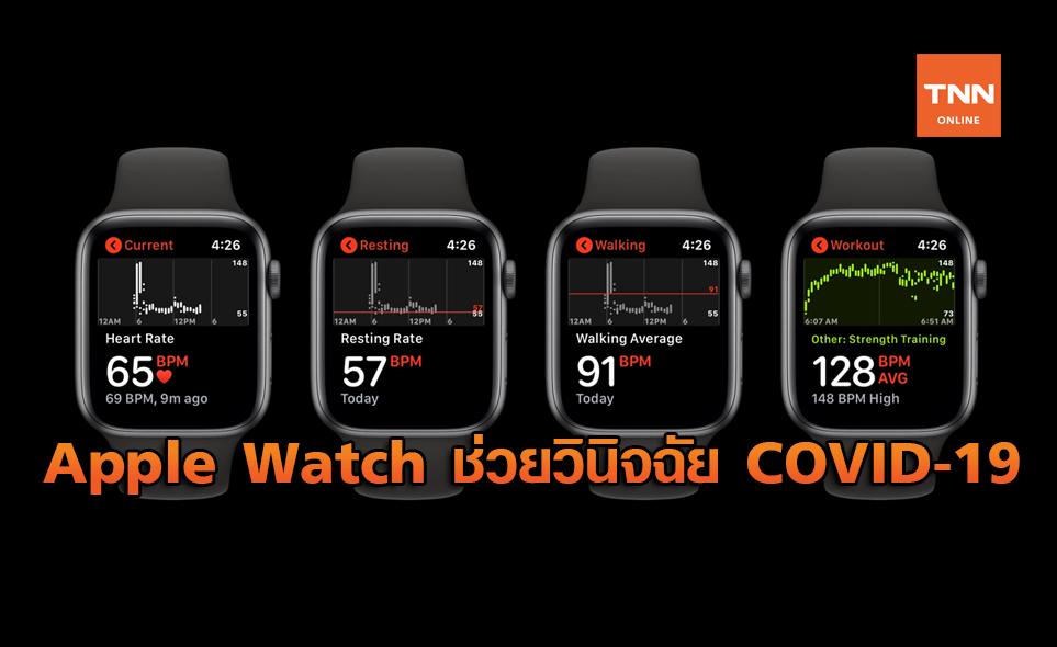 Apple Watch อาจช่วยวินิจฉัย COVID-19 ได้ ก่อนที่ผู้ป่วยจะแสดงอาการ