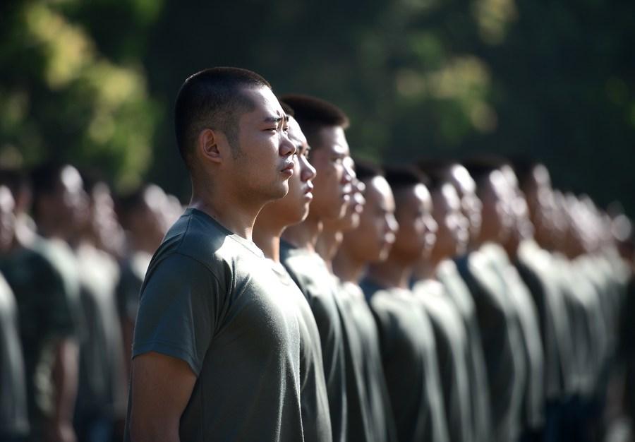 จีนเตรียมความพร้อม 'รับสมัครทหาร' ประจำปี 2021