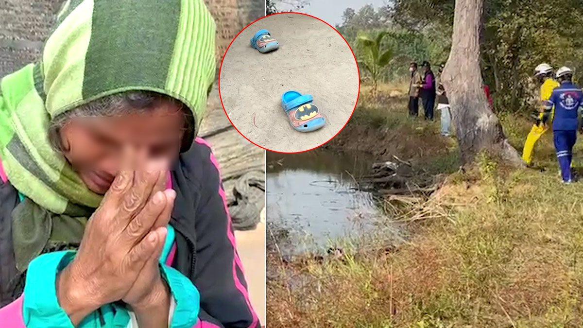 ยังไม่พบ2ขวบ กู้ภัยคาดไม่ได้จมน้ำ ยายทวดเชื่อถูกลักพาตัว ร่ำไห้ยกมือไหว้วอนให้พามาคืน
