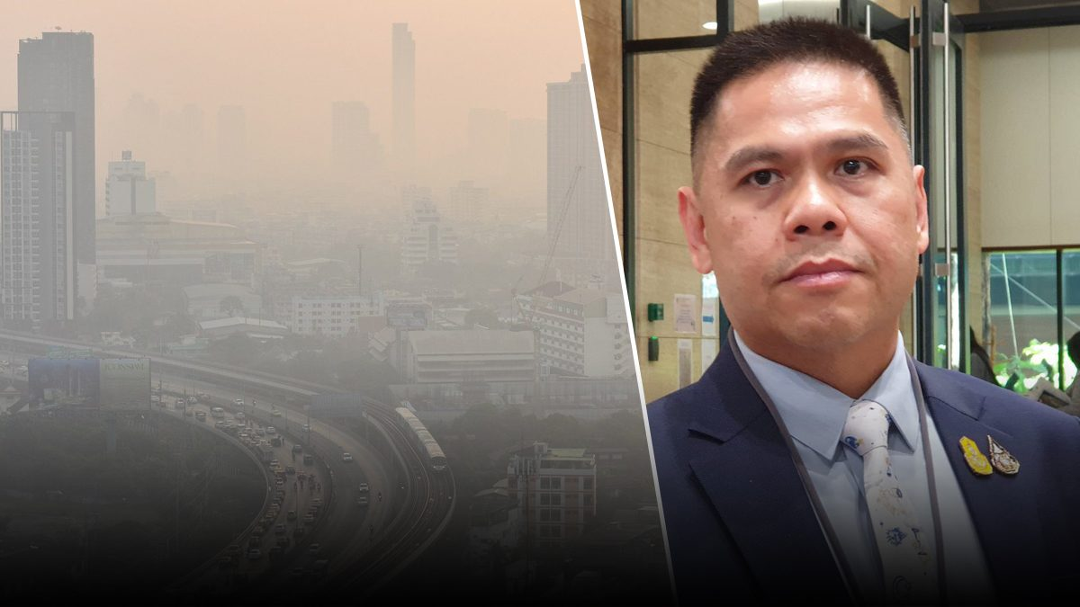 รมว.ทส. ขอโทษคนกรุงเทพ ตื่นมาเจอ PM 2.5 เผยสาเหตุจมฝุ่นพิษ หลายวันติด