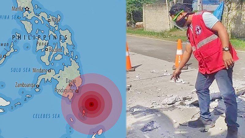แผ่นดินไหว 7.0 แม็กนิจูด เขย่าทะเลปินส์-เตือนอาฟเตอร์ช็อกต่อเนื่อง!