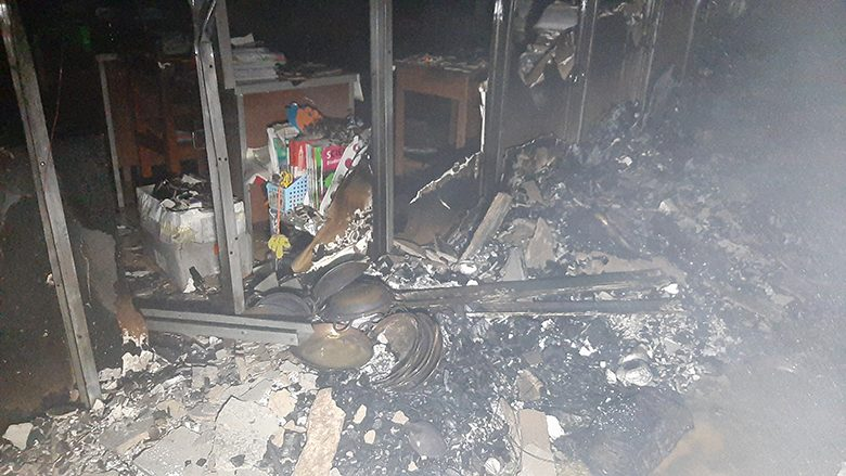 ไฟไหม้โรงเรียนเอกชนดัง เมืองฉะเชิงเทรา ต้นเพลิงห้องเก็บผ้า