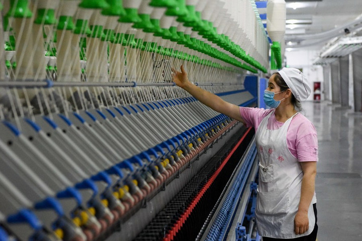 'ซินเจียง' เพิ่มตำแหน่งงานในเขตเมืองกว่า 460,000 ในปี 2020