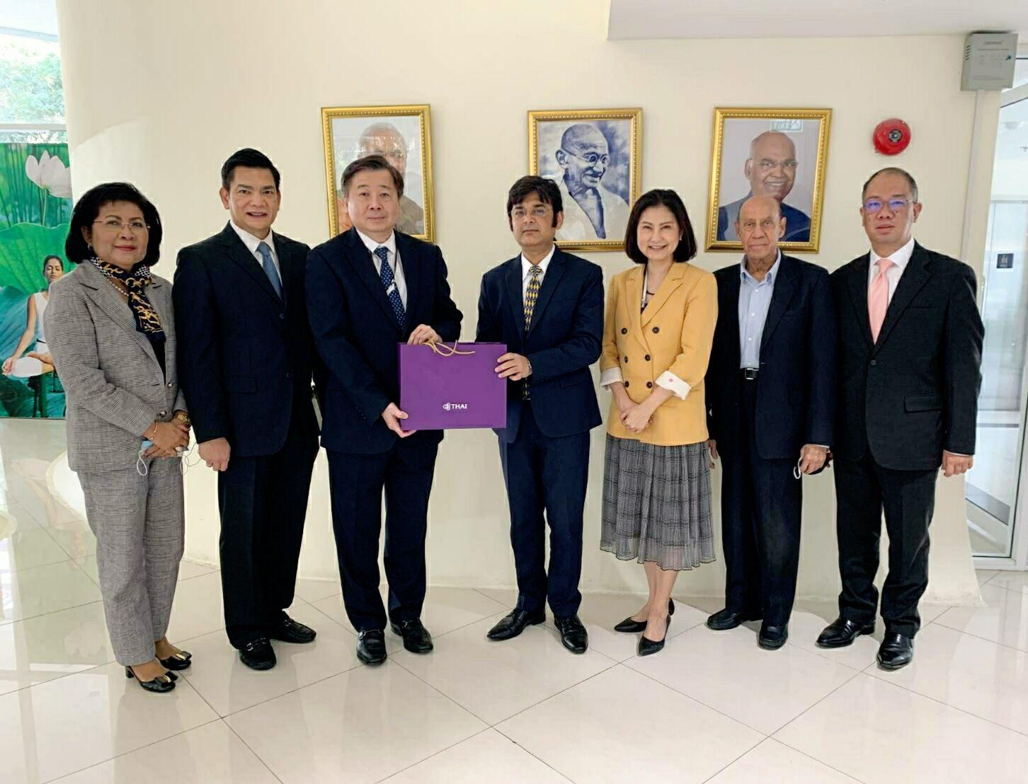 การบินไทย รุกเจรจาภาครัฐและเอกชน หวังสร้างโอกาสทางธุรกิจ