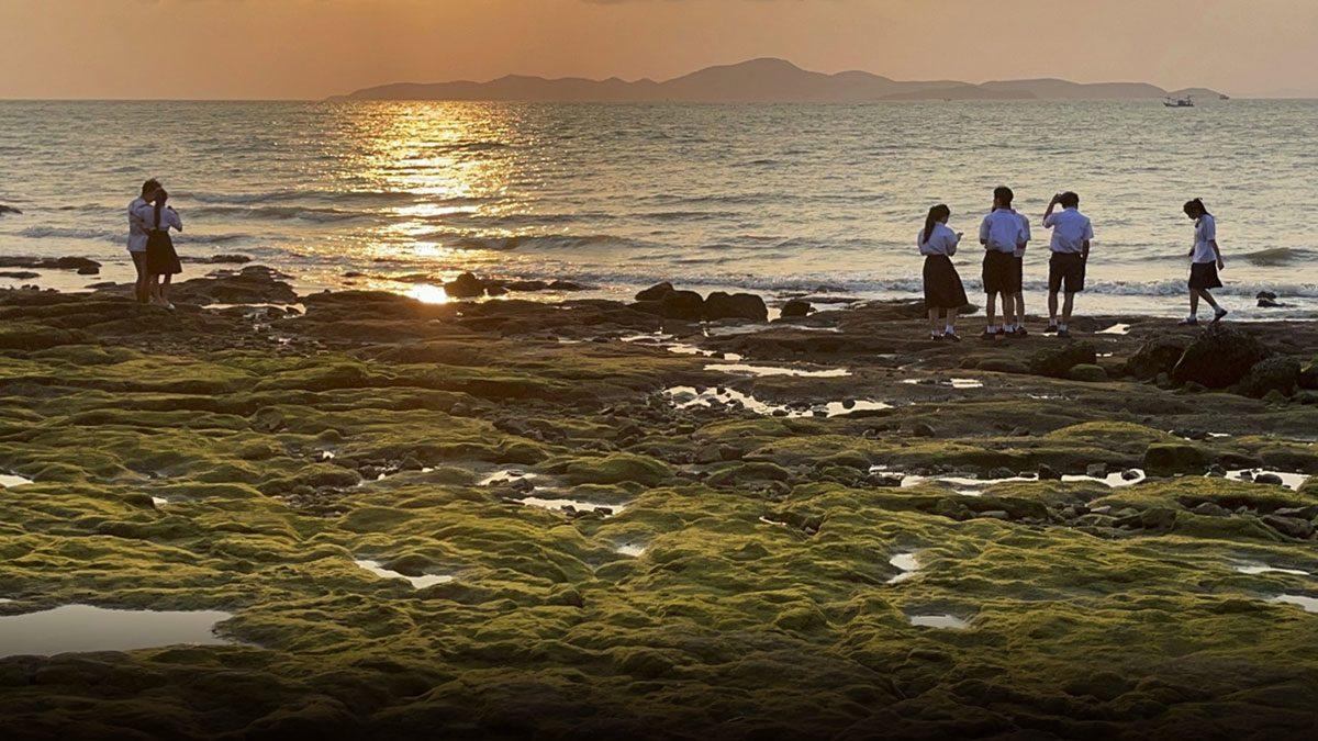 แห่ถ่ายภาพ ตะไคร่น้ำ สีเขียวลงโซเชียล เป็นปรากฎการณ์ธรรมชาติ เกิดปีละครั้ง!