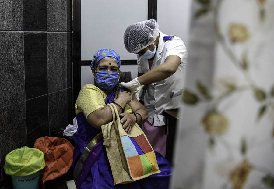 อินเดียเผยปชช. 97% พึงพอใจประสบการณ์ฉีด 'วัคซีนโควิด-19'