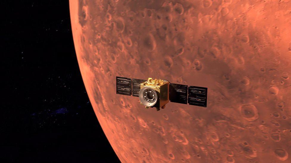 """เอมิเรตส์ ฉลองภารกิจดาวอังคารครั้งแรก ยานอวกาศ """"โฮป"""" เข้าสู่วงโคจรสำเร็จแล้ว"""