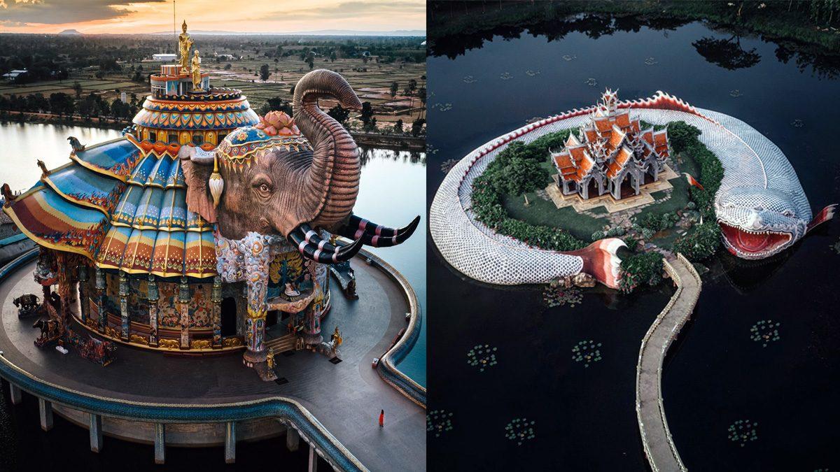 นึกว่าสวนสนุก! ต่างชาติอึ้ง ที่เที่ยวไทย สวยตระการตา เอ่ยชม-น่าเที่ยวเพียบ!