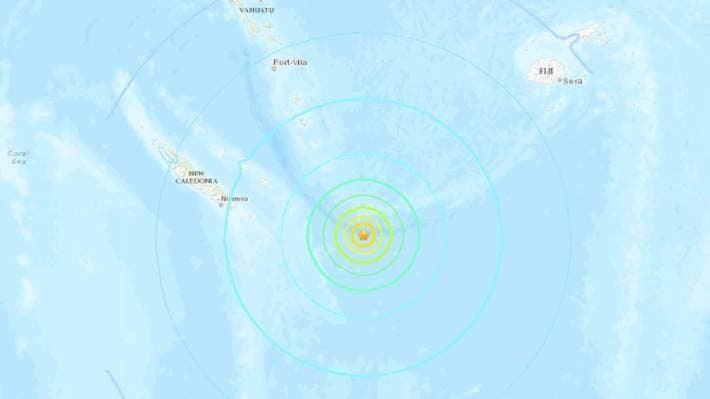 แผ่นดินไหว7.7เขย่าแปซิฟิกใต้ ออสซี่ยืนยันเกิดสึนามิ นิวซีแลนด์สั่งอพยพคนริมน้ำ