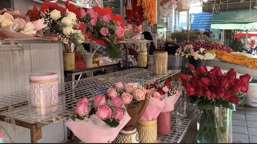 ใกล้วาเลนไทน์ ร้านดอกไม้โคราชยอดตก เหตุ คนไม่กล้าใช้จ่าย