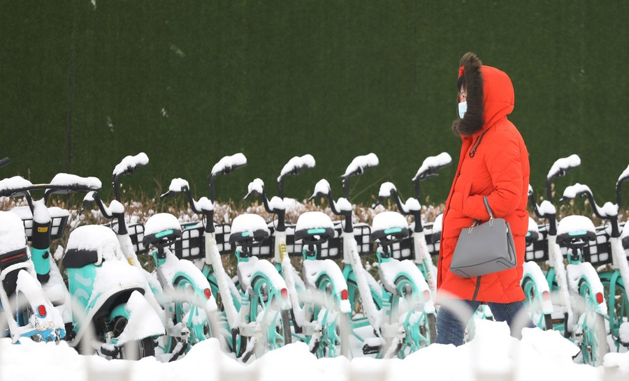 จีนเตือนภัย 'คลื่นความเย็น' แผ่ปกคลุมตอนเหนือ