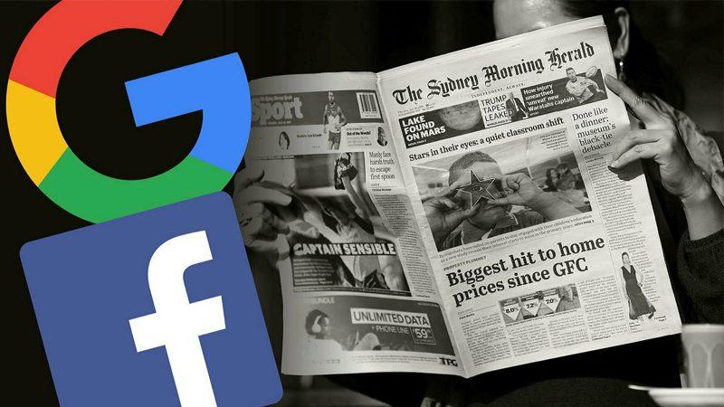 """เฟซบุ๊กเปิดศึกแล้ว """"บล็อกข่าว"""" ออสซี่ หลังถูกกูเกิลลอยแพ-ฉลุยดีลนิวส์คอร์ป"""