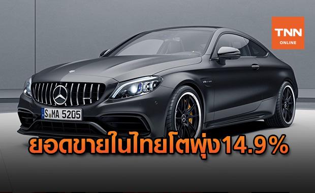 """""""Mercedes-AMG""""กวาดยอดขายในไทยฝ่าโควิด-19 โตพุ่ง14.9%"""