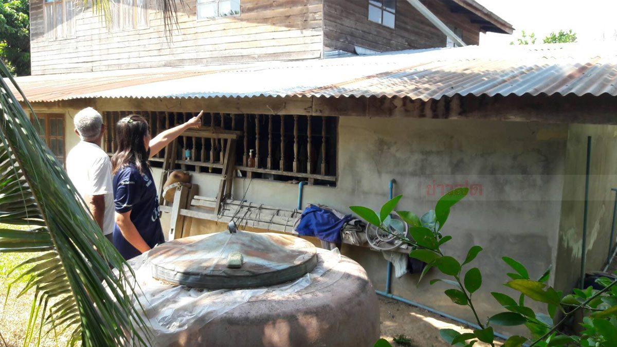 สาวสุดเศร้า เพิ่งขายวัวได้ 3 ตัว โดนคนร้ายปีนบ้าน ลักเงินเกลี้ยง