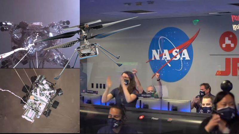 นาซ่าอวดคลิปเพอร์เซอเวียแรนส์จอดดาวแดง โดรนอินจีนูวตีเตรียมปฏิบัติการ
