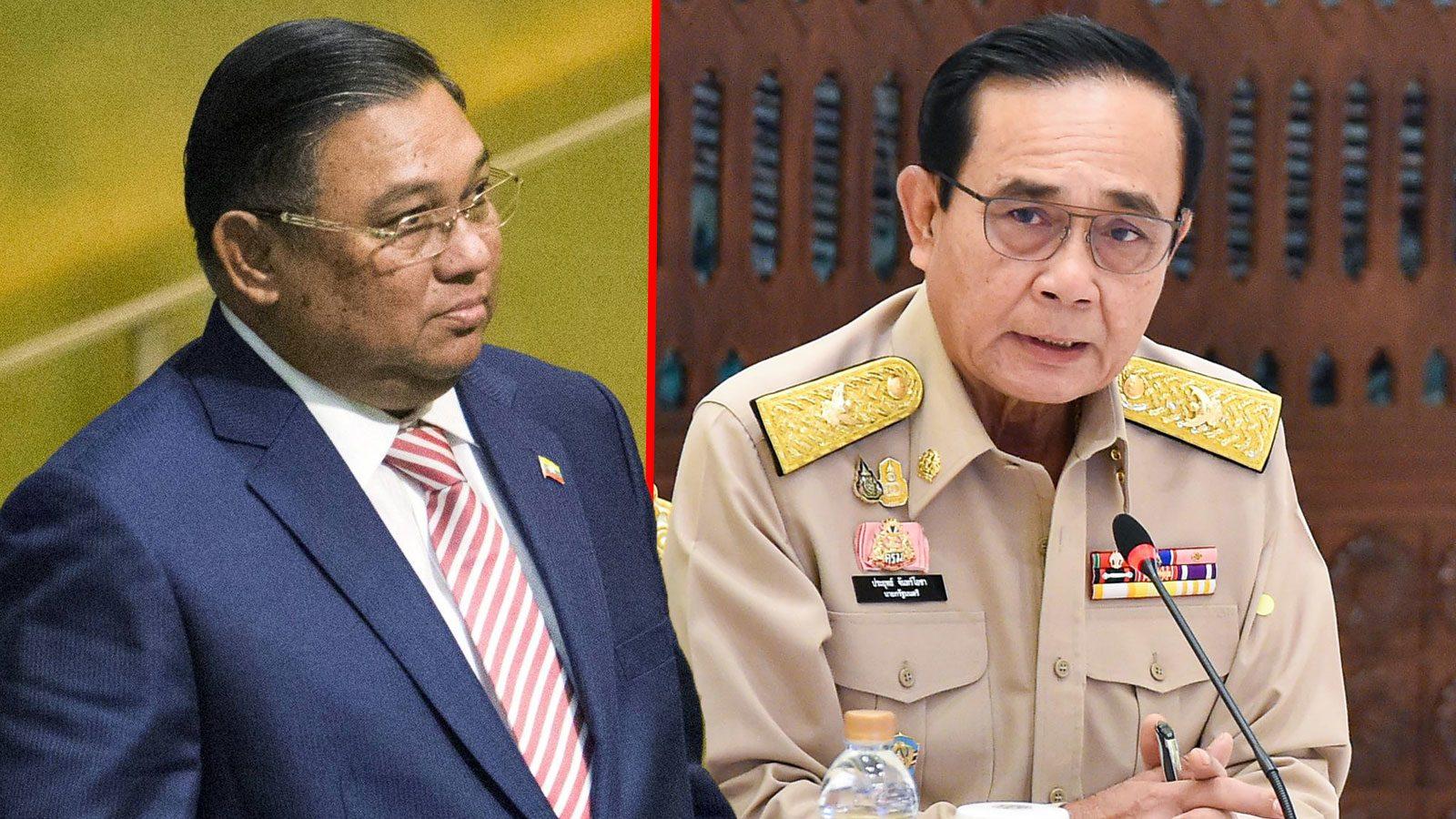 รมว.ต่างประเทศที่กองทัพพม่าตั้ง เยือนไทย พบ 'บิ๊กตู่-รมว.อินโด' หาทางออกวิกฤตชาติ
