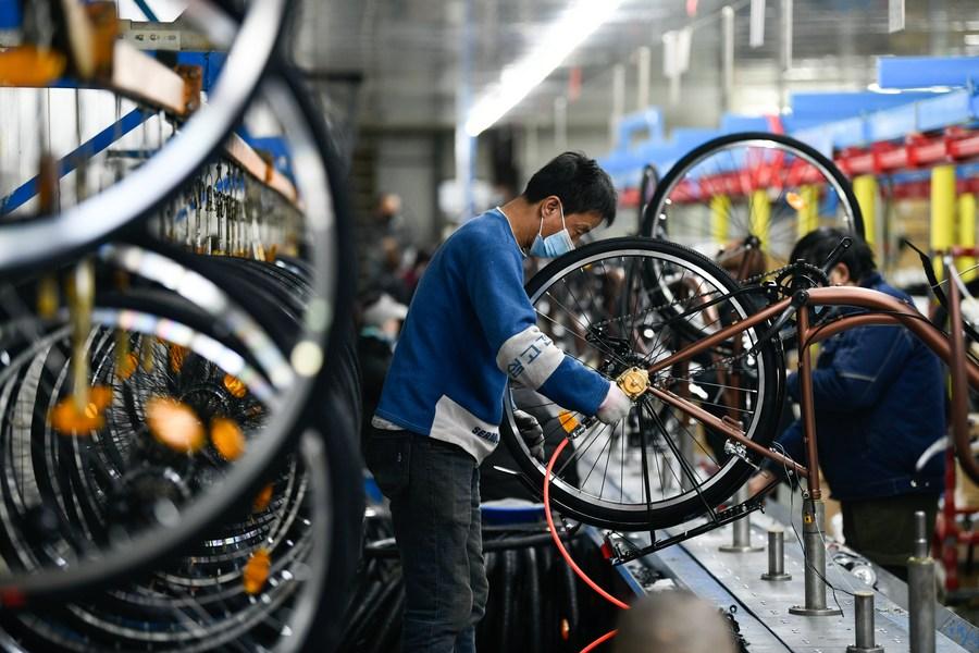 ผู้ผลิต 'จักรยาน' ในจีน ทำกำไรปี 2020 ทะลุ 7 พันล้านหยวน