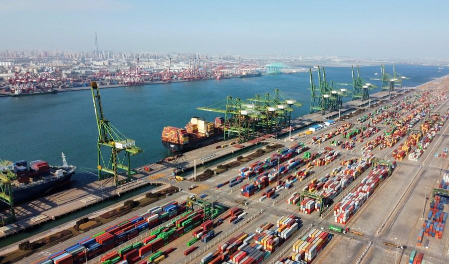 'เทียนจิน' เผยการค้าระหว่างประเทศ โตแกร่ง 17.5% ในไตรมาสแรก