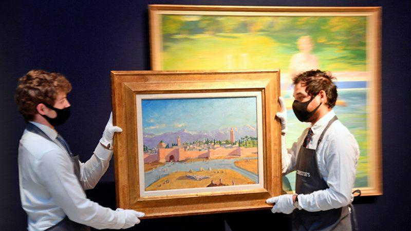 ภาพวาดฝีมือนายกฯ เชอร์ชิล ประมูลสูงเป็นประวัติศาสตร์-เฉียด 350 ล้าน!