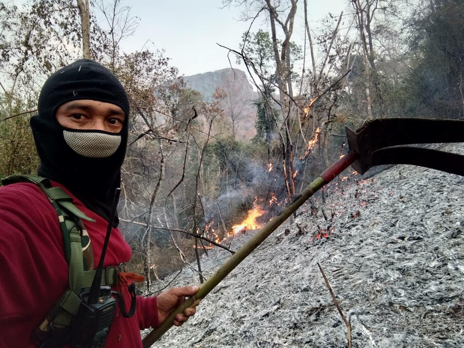 'เลย' ออกประกาศทุกหมู่บ้านเป็นเขตควบคุมไฟป่า แต่ PM.2.5 พุ่งสูงต่อเนื่อง