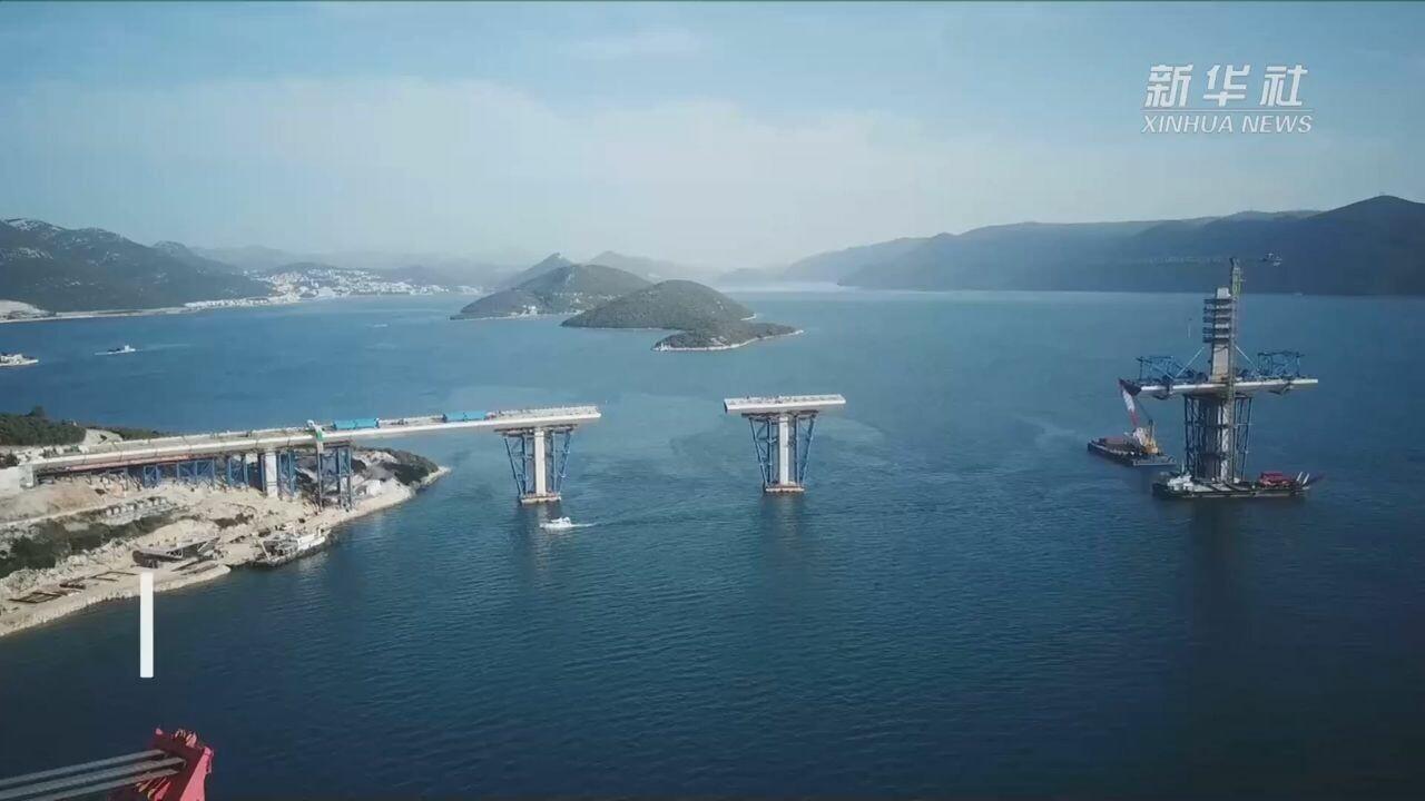 โครงการ 'สะพานเพลเยซัก' ฝีมือจีนในโครเอเชีย เดินหน้าราบรื่น