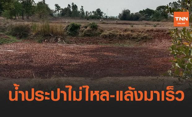 โคราชเดือดร้อนหนัก! น้ำประปาหมู่บ้านไม่ไหล หลังภัยแล้งมาเร็ว