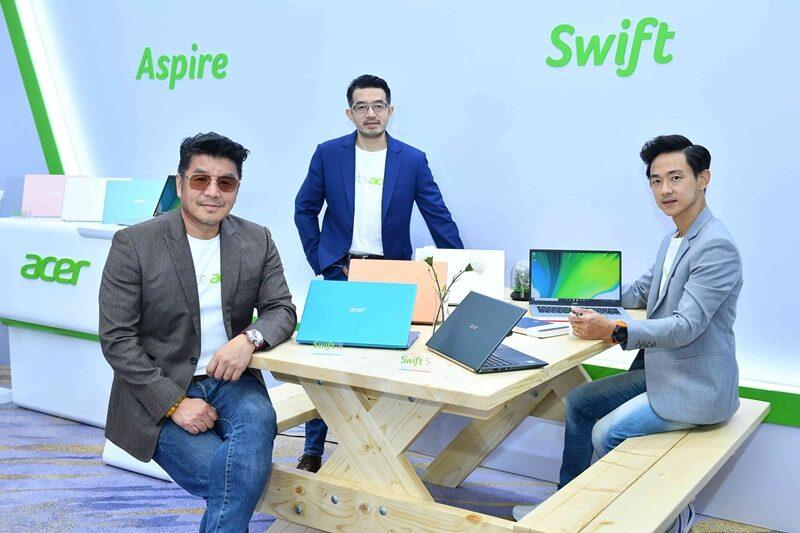 เอเซอร์ มุ่งเป้าสู่ Lifestyle Brandsนำเสนอผลิตภัณฑ์ตอบโจทย์ไลฟ์สไตล์ Live, Work, Learn, Play