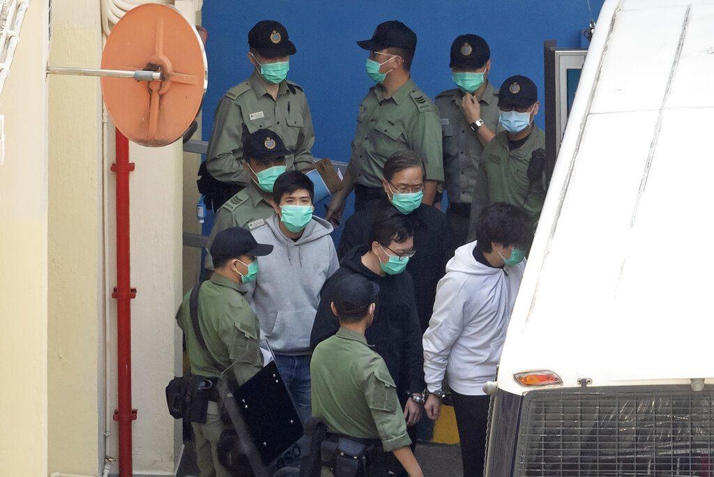 47นักประชาธิปไตยฮ่องกง ถูกขึ้นศาลมาราธอน มีสาวถึงขั้นสลบ