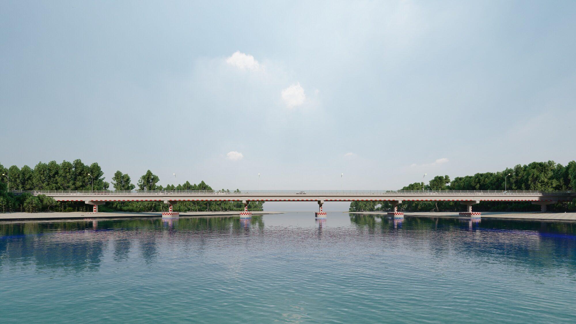 ทางหลวงชนบท เร่งก่อสร้างสะพานข้ามคลองดู จ.สตูล เชื่อมเกาะสู่แผ่นดินใหญ่ คาดแล้วเสร็จปี'65