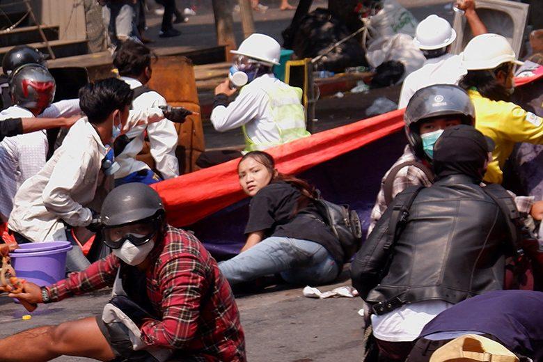 วันนองเลือดพม่า ช็อกหนักยูเอ็นแถลง ผู้ชุมนุมถูกฆ่าเกือบ40ศพ