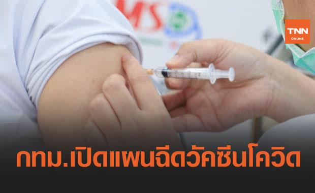 กทม.เปิดแผน-เป้าหมายฉีดวัคซีนโควิด-19 ให้คนกรุง