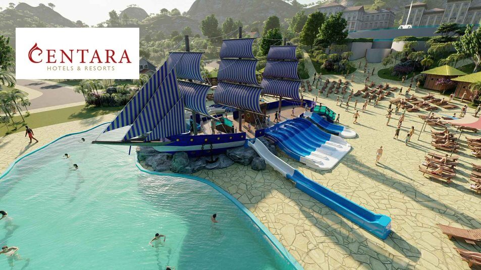 เซ็นทารา เผยโฉมรีสอร์ทน้องใหม่ในเวียดนาม ธีมสวนน้ำมิราจ แห่งที่สองของโลก