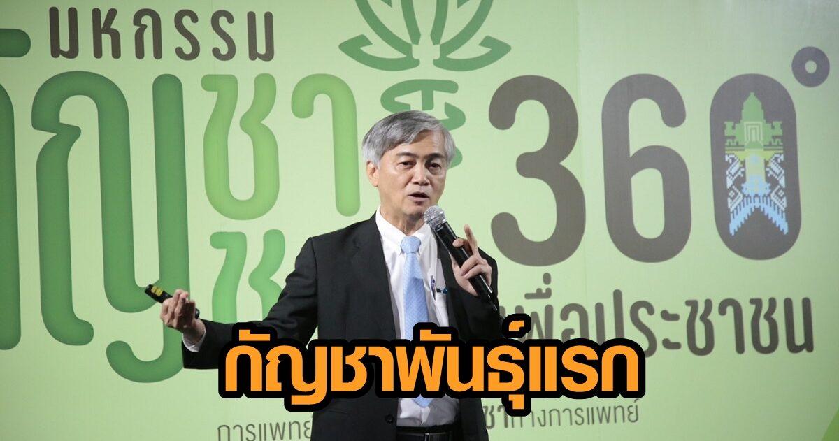 ไทม์ไลน์ 'อิสระ 01' กัญชาพันธุ์แรก ไม่ติดสิทธิบัตร ผ่านเกณฑ์-ขึ้นทะเบียนพันธุ์พืชไทย