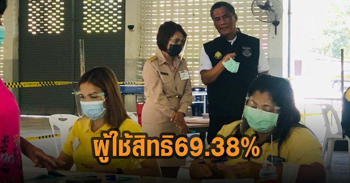 กกต.สรุปผลเลือกตั้งซ่อมแบบไม่เป็นทางการ มีใช้สิทธิ์ 69.38% รอรับรองผล