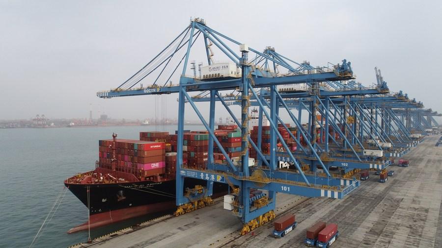 การค้าต่างประเทศ 'จีน' 2 เดือนแรก โต 32.2% 'อาเซียน' รั้งคู่ค้าอันดับ 1