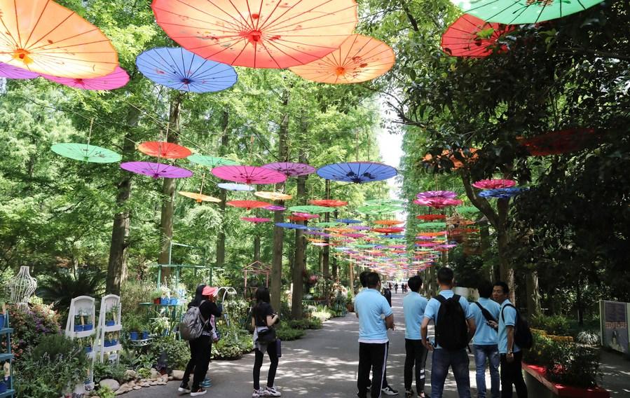 เซี่ยงไฮ้รับสมัคร 'นศ.อาสาสมัคร' 3,000 คน ช่วยงานมหกรรมดอกไม้จีน