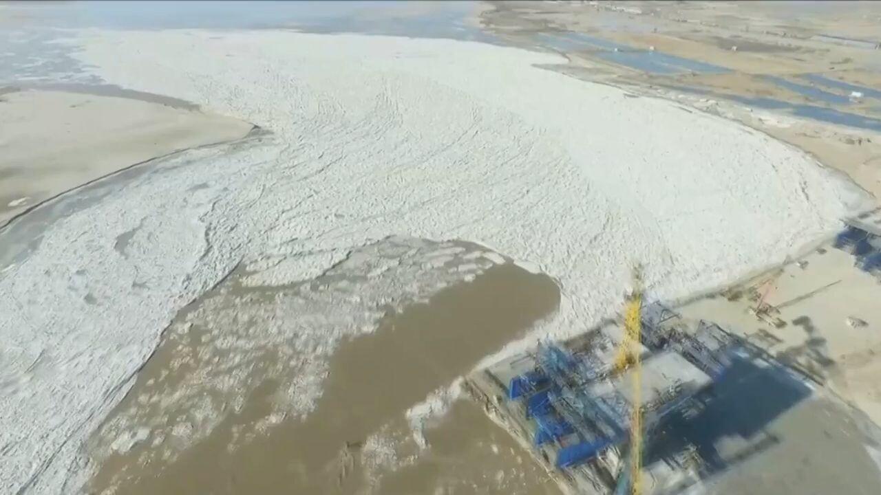 จีนเผย 'แม่น้ำเหลือง' ปิดฉาก 'ฤดูน้ำท่วมจากน้ำแข็ง' ไร้เหตุร้าย