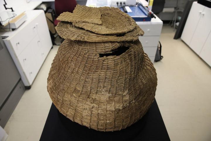 โฉมหน้า 'ตะกร้ายุคหิน' 10,500 ปี สภาพสมบูรณ์สุด พบในอิสราเอล
