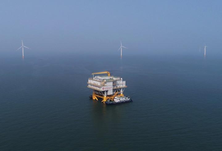 จีนรั้งแชมป์อุตสาหกรรม 'พลังงานลม' โลกปี 2020