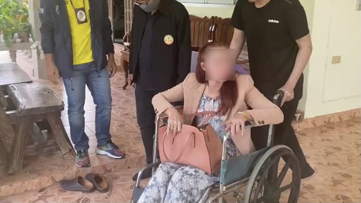 บุกจับสาวใหญ่! ตุ๋นทำงานเมืองนอก เหยื่อสูญคนละกว่า 1.7 แสน แฉเงินหมุนเวียน 50 ล้าน