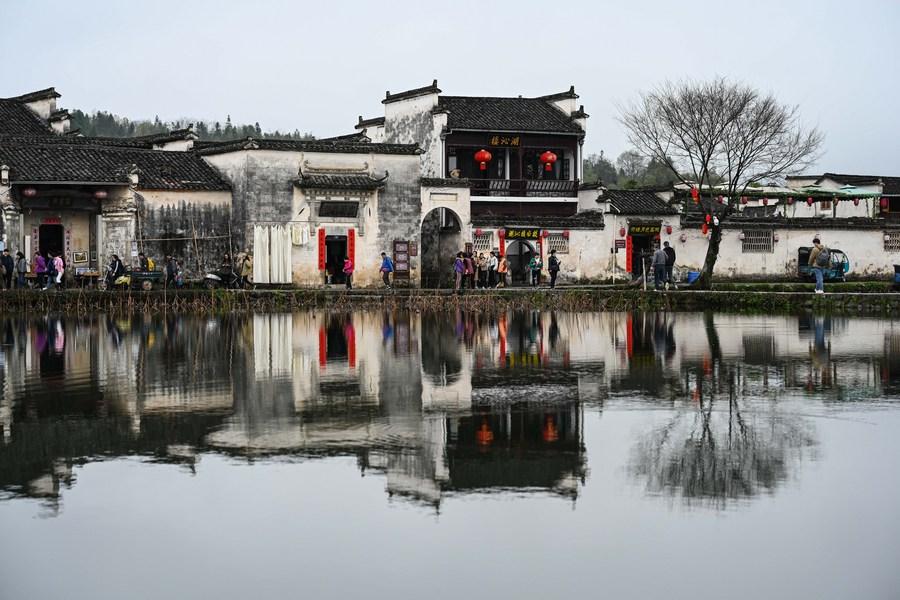 เก่าแก่ 800 ปี! เยือน 'หมู่บ้านโบราณหงชุน' ในอันฮุย