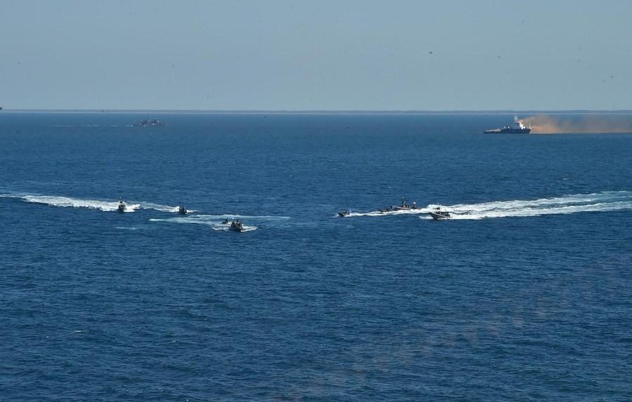 ทัพเรือ 'อียิปต์-สหรัฐฯ' ฝึกซ้อมร่วมในทะเลแดง