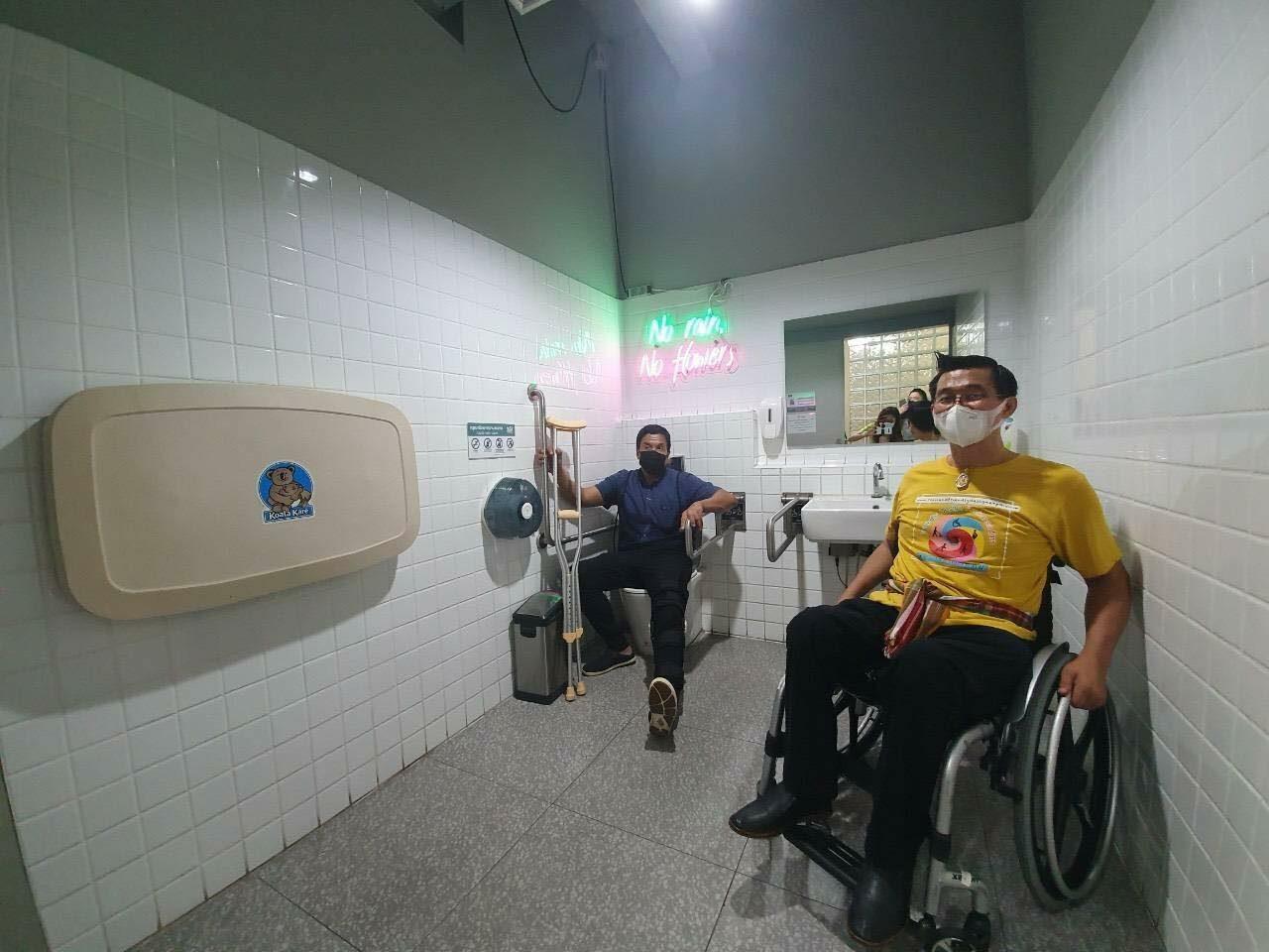 ชัชชาติ นำเครือข่ายมนุษย์ล้อ ทดลองสำรวจการเดินทางของผู้พิการ ใจกลางกรุงฯ