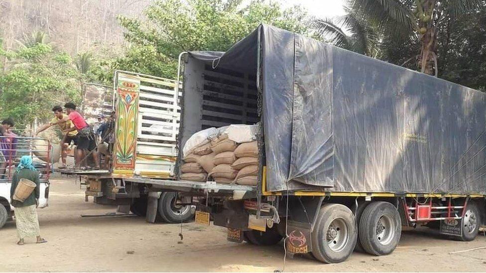 รัฐประหารเมียนมา : ทหารกะเหรี่ยงแพร่ภาพสินค้าจากไทยไปเมียนมา เลขายูเอ็นประณามการฆ่าประชาชน