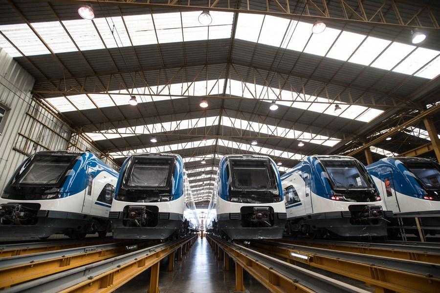 ชิลีเปิดตัว 'รถไฟฝีมือจีน' 15 ขบวน ยกระดับบริการรถไฟของประเทศ